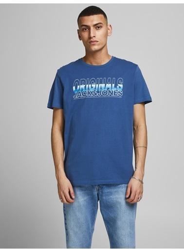 Jack & Jones Tişört Mavi